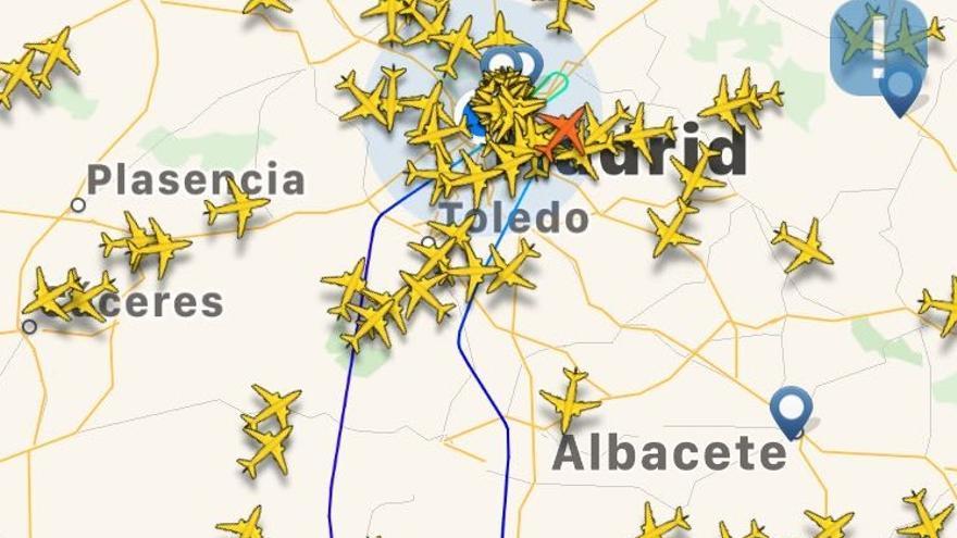 Ruta del A330 MRTT este miércoles 29 de agosto
