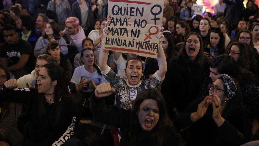 Un momento de la manifestación celebrada el 8 de marzo de 2017 en Madrid / Olmo Calvo