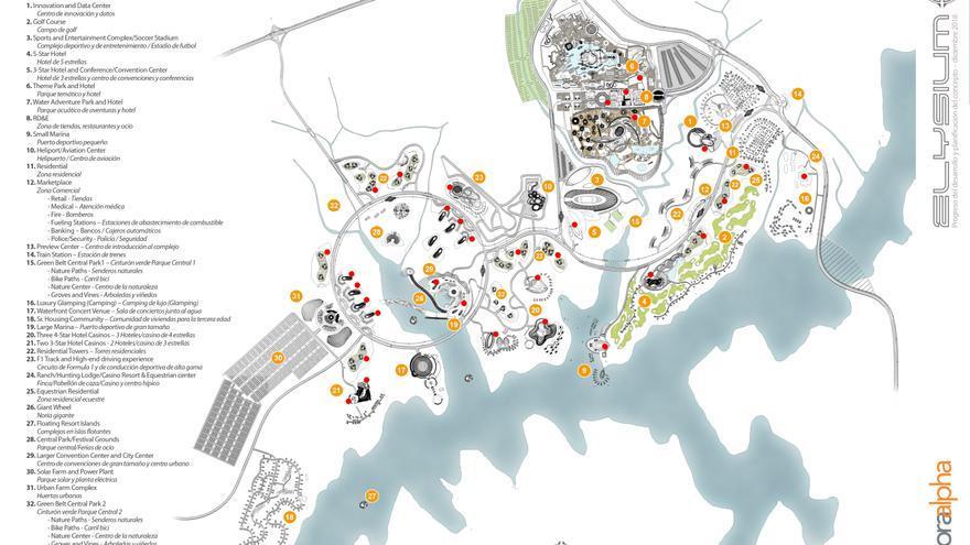 El complejo turístico de Castiblanco se haría en dos fases, 2023 y 2028, con 3.300 millones de euros en inversión inicial