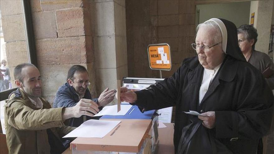 El PP mantiene su mayoría en Oviedo donde Somos supera al PSOE al 100% escrutado