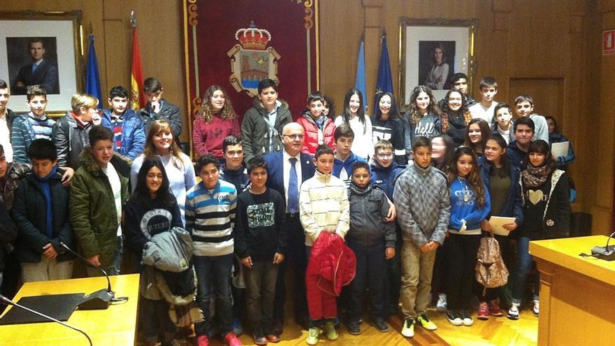 Baltar, este lunes en el pleno infantil de la Diputación de Ourense