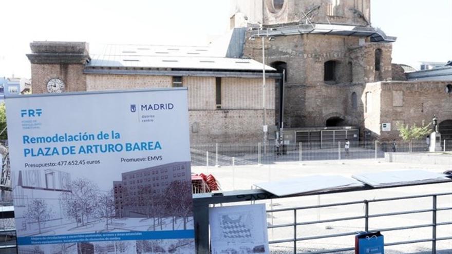 Plaza Arturo Barea, Lavapiés. / EP