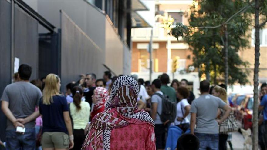 Los hijos de inmigrantes sufren la misma discriminación que los de españoles