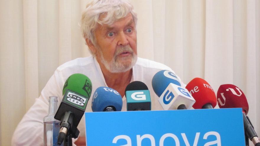 Beiras se posiciona a favor de ir a las europeas con IU y se desmarca de la opción oficial de la dirección de Anova