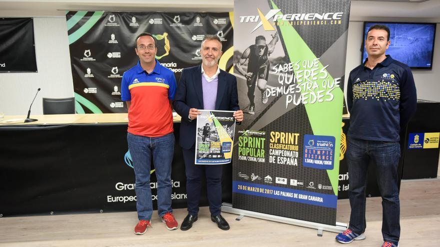 Presentación de la Copa de Europa de Triatlón