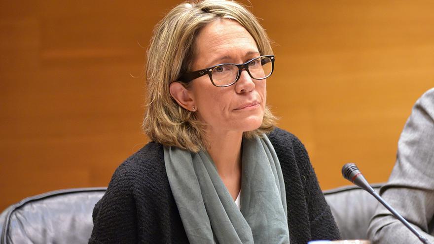Nuria Romeral, exjefa de prensa de Francisco Camps, comparece en la comisión del accidente de metro