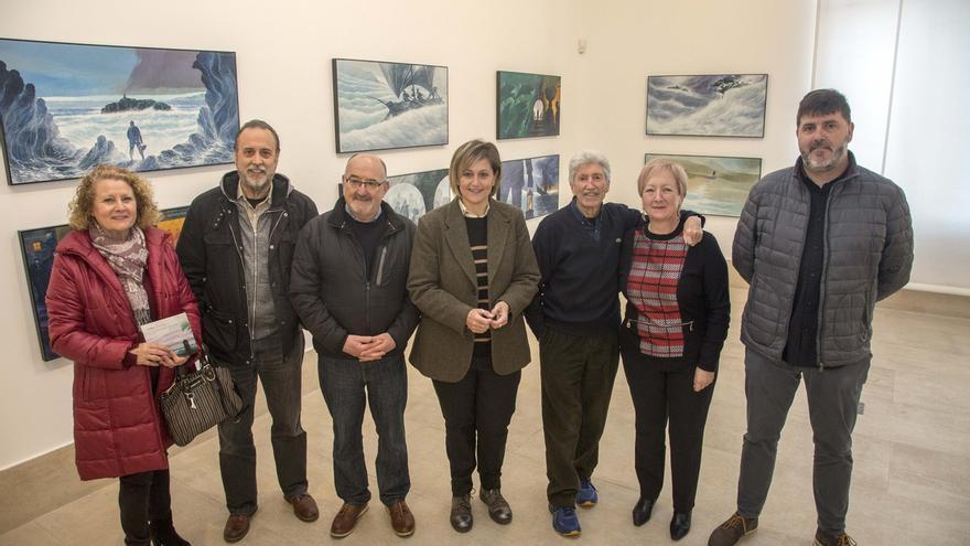La Vidriera acoge la exposición 'El mar' de José Ramón Sánchez