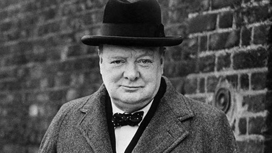 Winston Churchill, primer ministro del Reino Unido de 1940 a 1945.