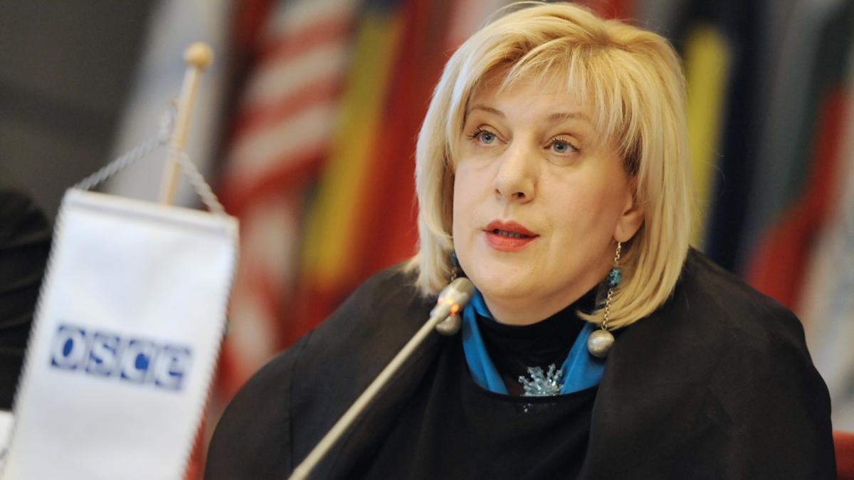 La comisaria de Derechos Humanos del Consejo de Europa, Dunja Mijatovic.
