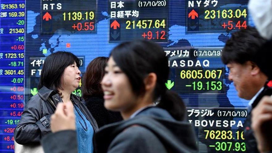 La Bolsa de Tokio avanza un 0,34 % en la apertura hasta los 22.615,35 puntos
