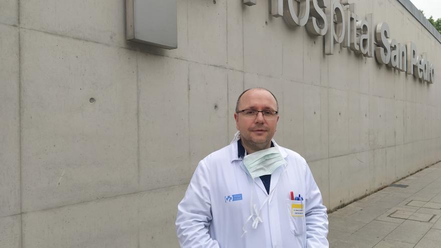 Alberto Lafuente, Director del Área de Salud de La Rioja