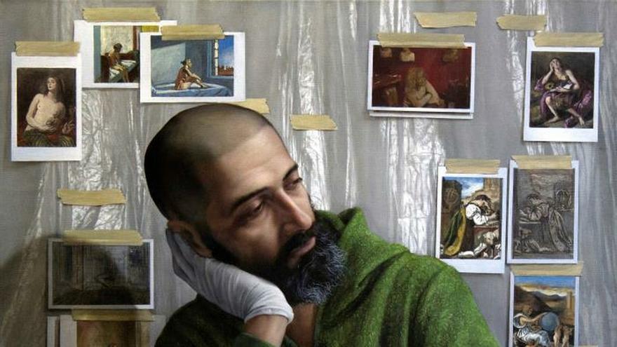 Un pintor español une memoria y presente en el Museo de Historia Nacional danés