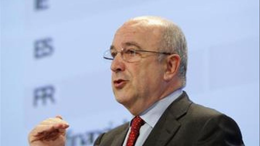 Comisario de Asuntos Económicos, Joaquín Almunia
