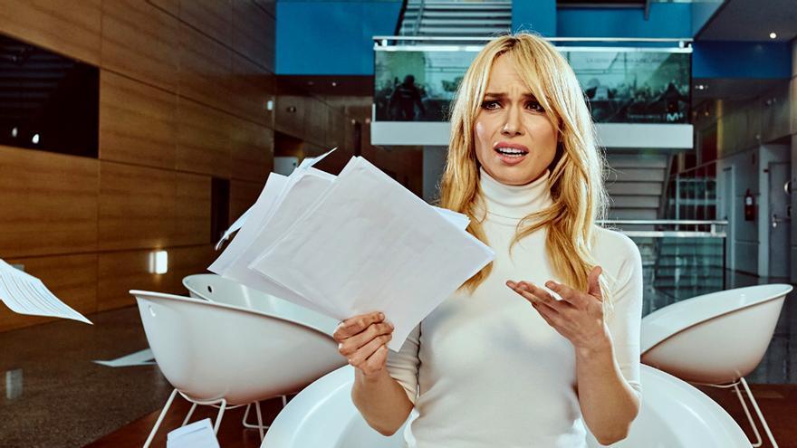 Patricia Conde en una imagen promocionar de 'Nadie al volante'