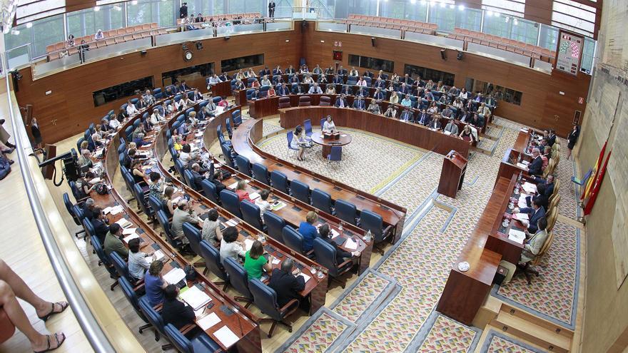 Diputados y ediles socialistas se encerrarán en la Asamblea y ayuntamientos de Madrid esta noche
