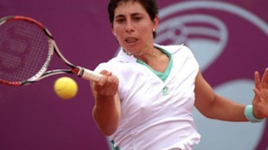 La tenista grancanaria, Carla Suárez. (rfet.es)