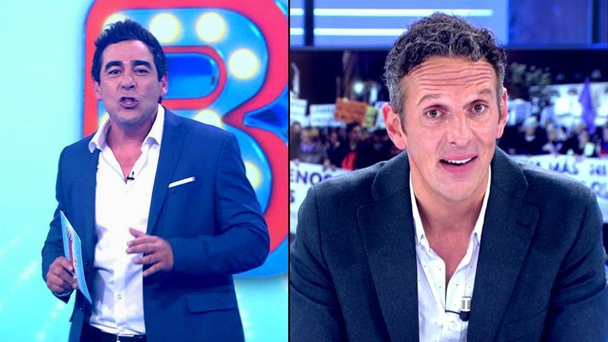 'El Bribón' Pablo Chiapella y Joaquín Prat en 'Cuatro al día