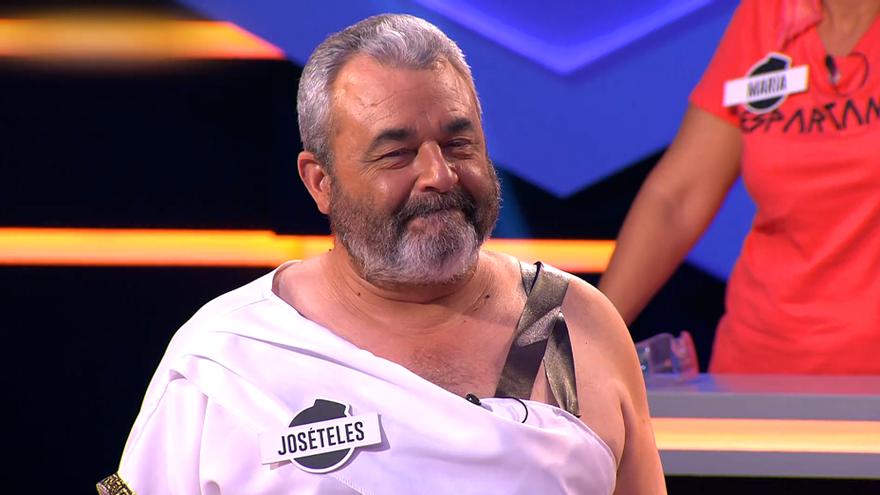 José Pinto, durante el programa 300 de 'Los lobos' en '¡Boom!'