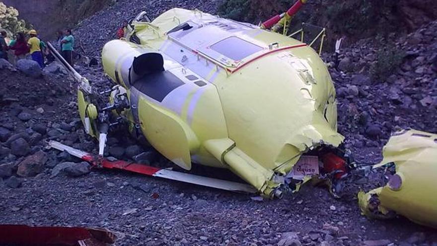 Del helicóptero accidentado #4