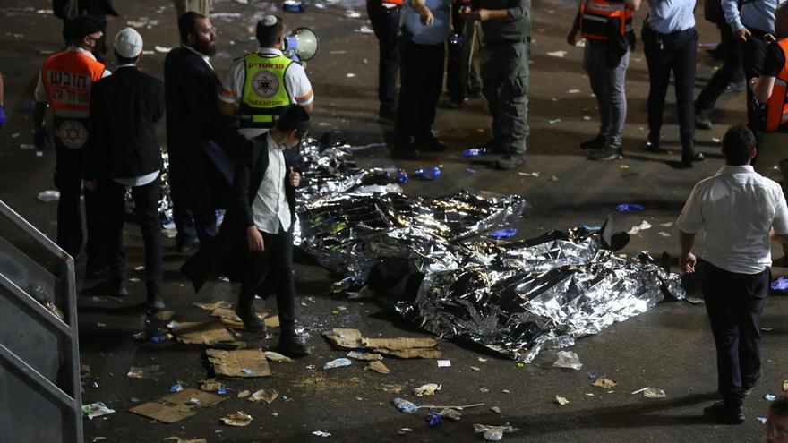 38 muertos en una aparente estampida humana en festividad religiosa en Israel