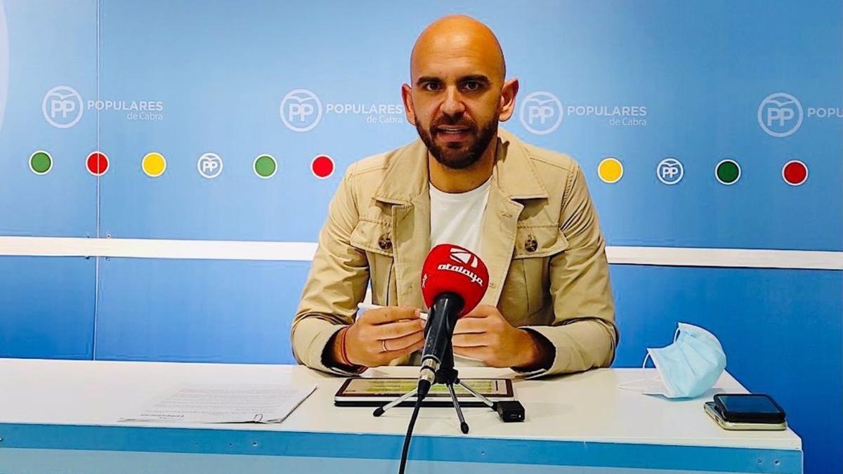 El secretario de Cultura del PP de Córdoba, Ángel Moreno.