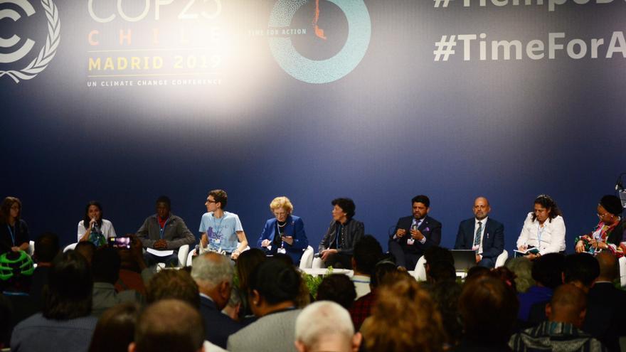 La conferencia de Unicef reunió a jóvenes activistas, que interpelaron a ministros de sus países.