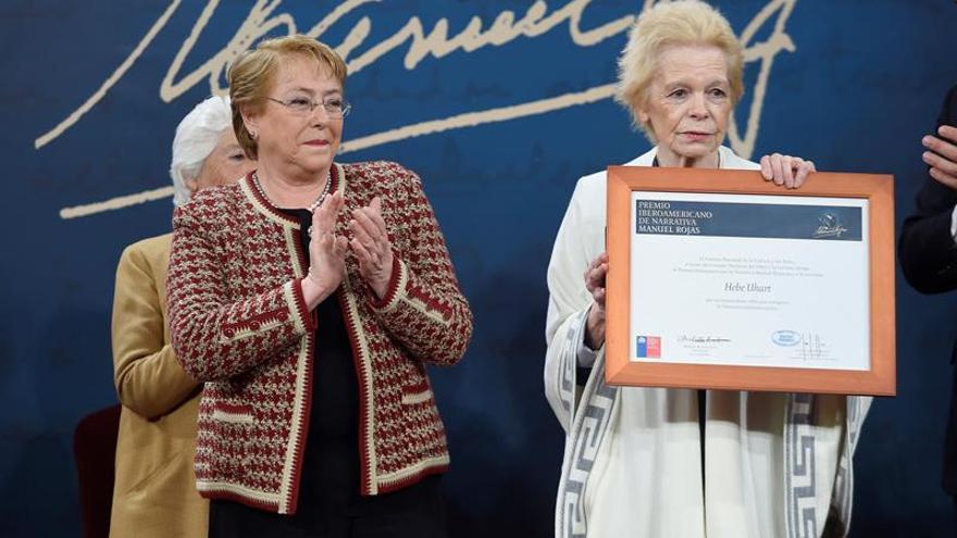 La argentina Hebe Uhart gana el Premio Iberoamericano de Narrativa Manuel Rojas