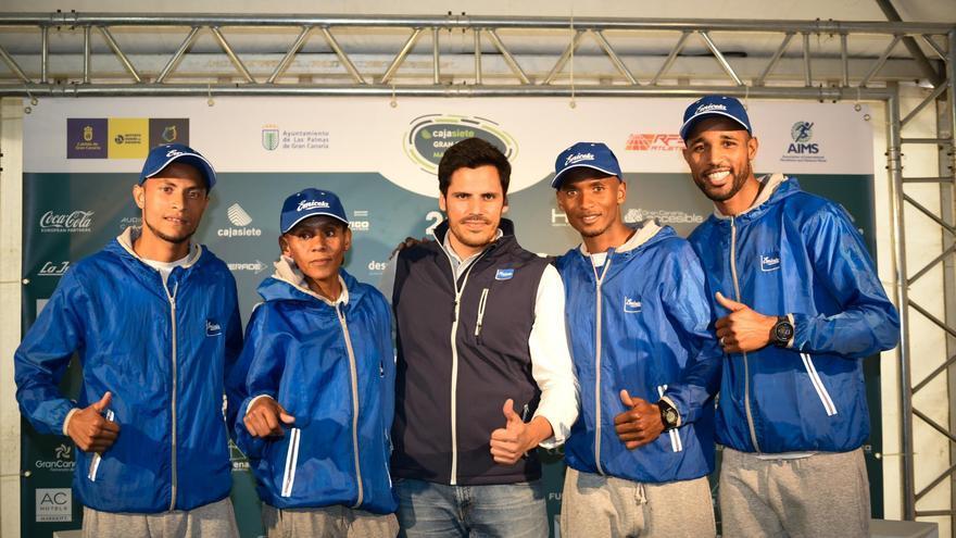 Atletas caboverdianos que corren la Gran Canaria Maratón