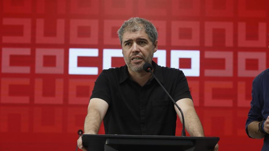 """Sordo dice que el marco de autogobierno de Cataluña debe ser votado por instituciones y ciudadanía """"mediante referéndum"""""""
