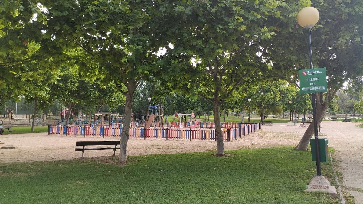 Parque Che Guevara de Zaragoza