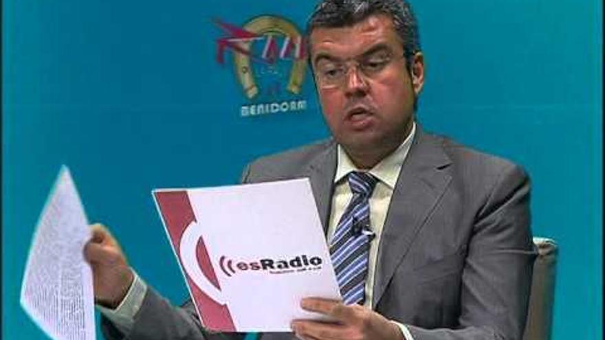 El portavoz de Ciudadanos por Benidorm, Leopoldo Bernabeu