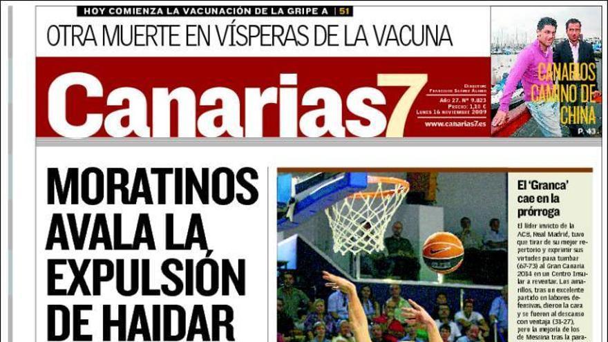 De las portadas del día (16/11/09) #1