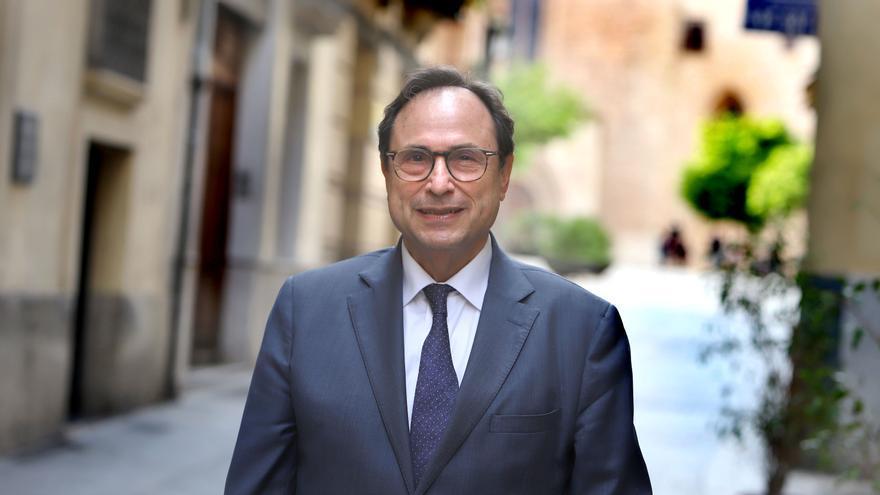 El conseller de Hacienda, Vicent Soler. / Jesús Císcar.