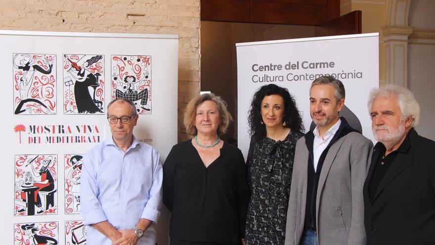 Vicent Gregori, Giovanna Ribes, Maite Ibáñez, José Luís Pérez Pont i Vicent Garcés