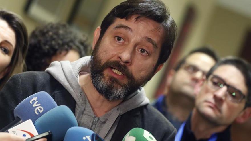 El diputado de Unidas Podemos Rafael Mayoral.