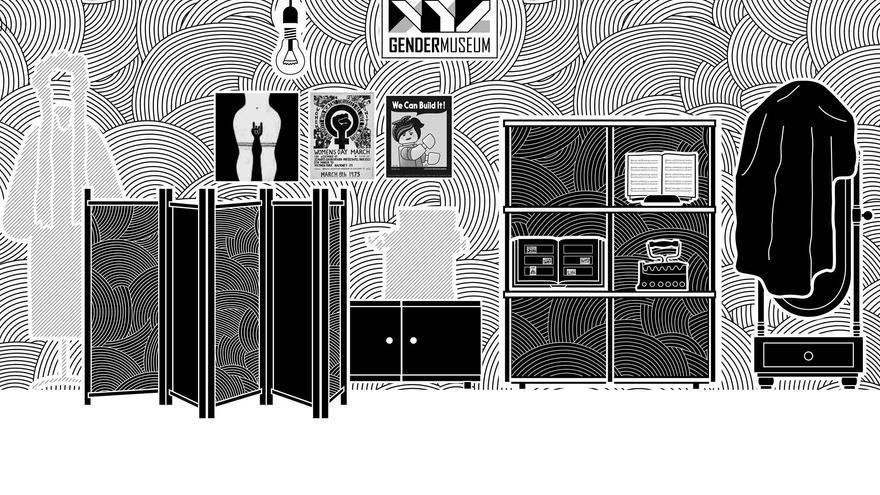 La ilustradora ucraniana Mariya Chorna ha diseñado el hogar de estilo constructivista de 'VONA'