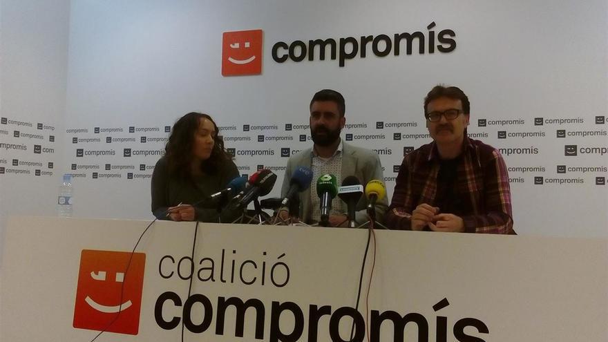 Glòria Tello, Pere Fuset y Giuseppe Grezzi