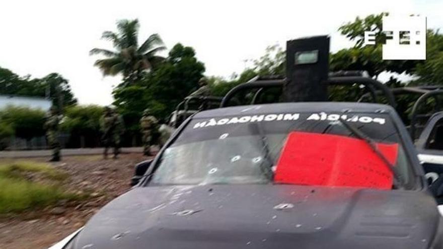 Matanza de 13 policías tiñe de sangre el estado mexicano de Michoacán