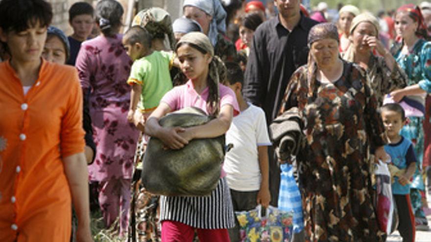 Refugiados de Kirguistán