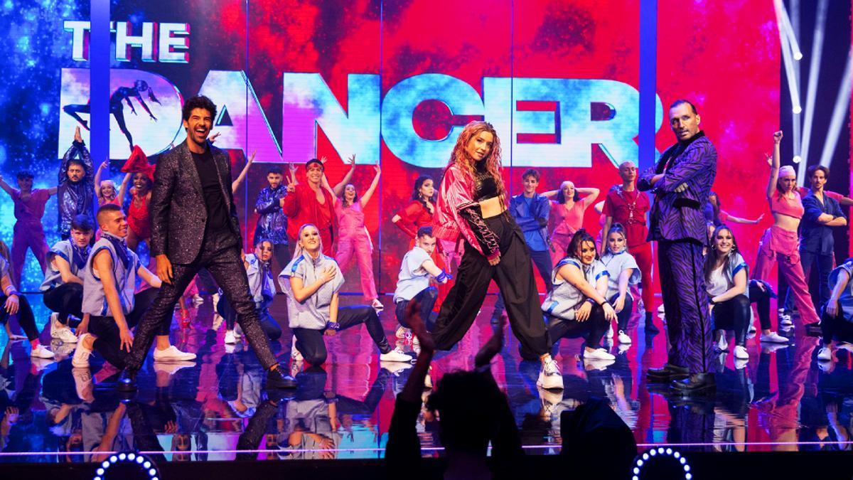 Los concursantes de 'The Dancer' junto a sus capitanes