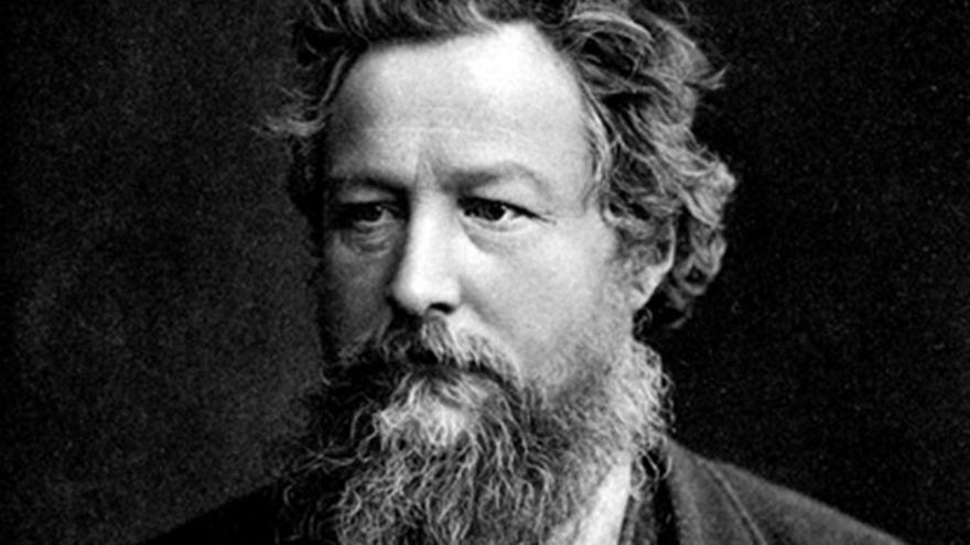 William Morris  Wikimedia Commons.
