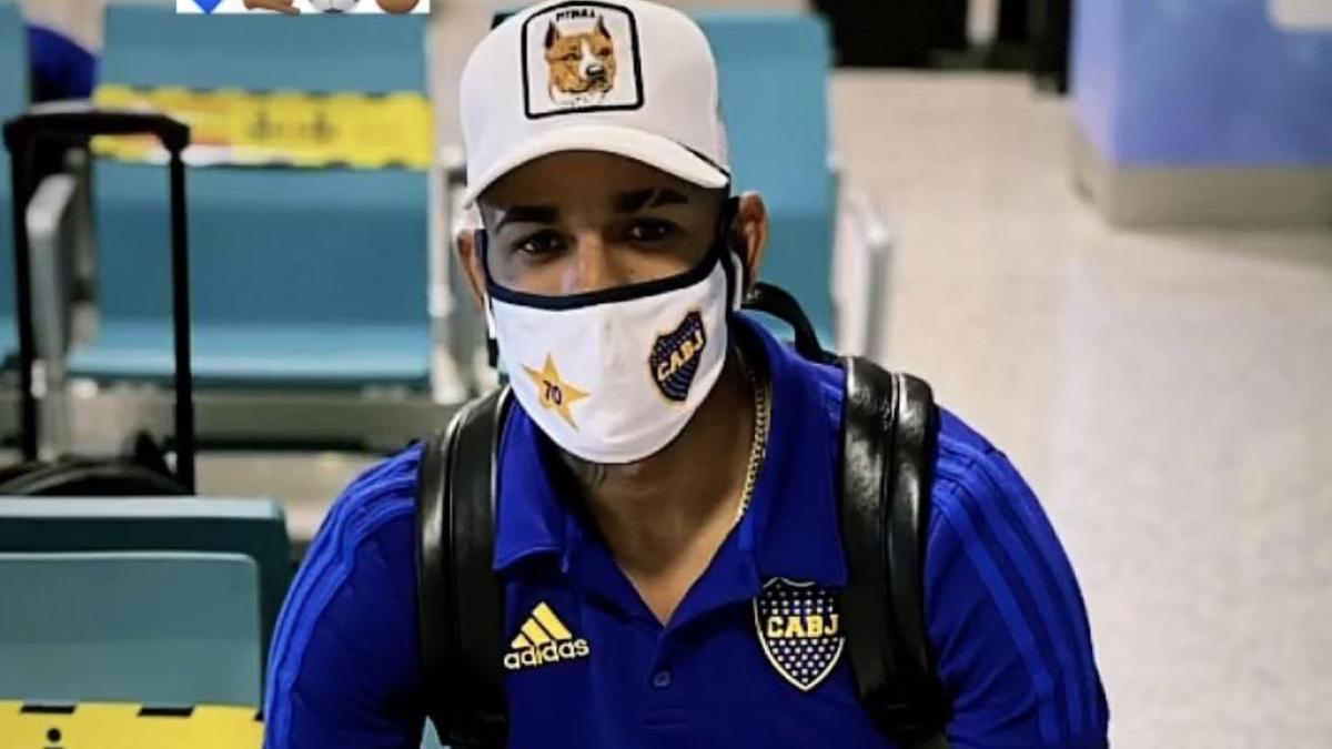 Sebastián Villa, en conflicto con Boca