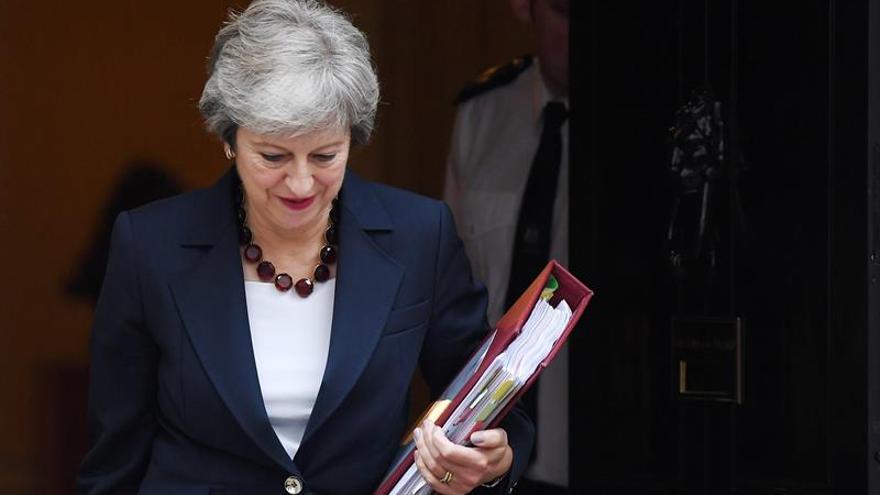 May dice que la cláusula de seguridad para Irlanda del Norte era inevitable