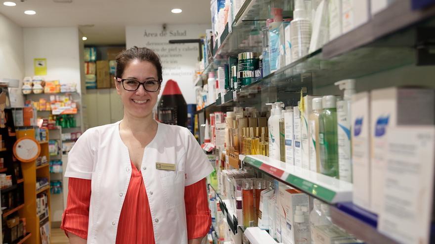 Eva Sentís, farmacéutica