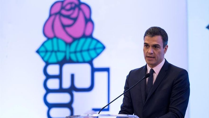 Sánchez dice ante los opositores que Guaidó es el lider de la transición venezolana