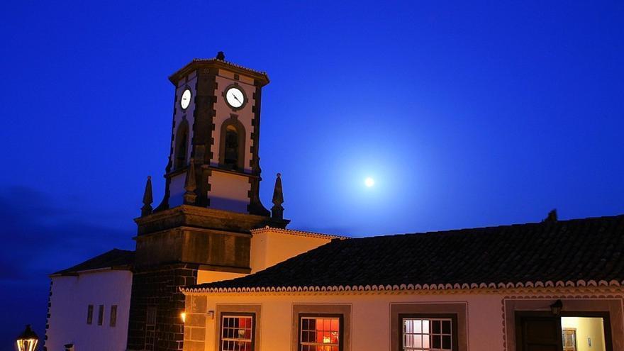 Iglesia de San Blas de Villa de Mazo. Foto: palmerosenelmundo.com