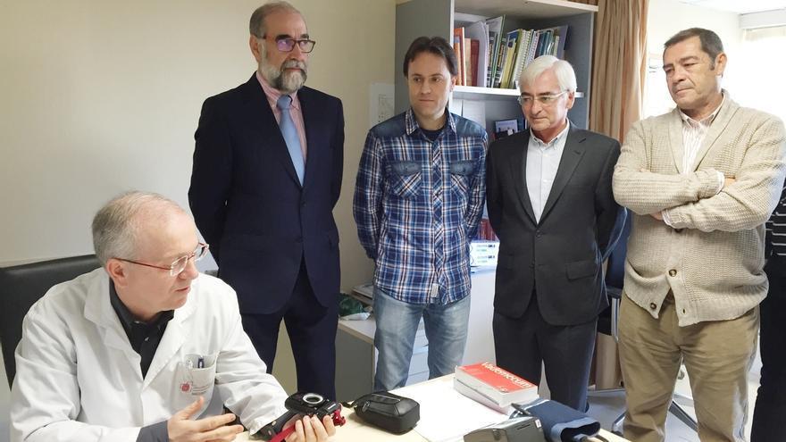 """El Área de Salud de Tudela implanta 'teledermatología', con la que se """"agiliza"""" el diagnóstico de patologías de la piel"""