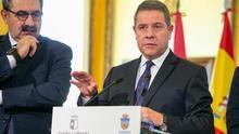 García-Page en Guadalajara junto al consejero de Sanidad, Jesús Fernández