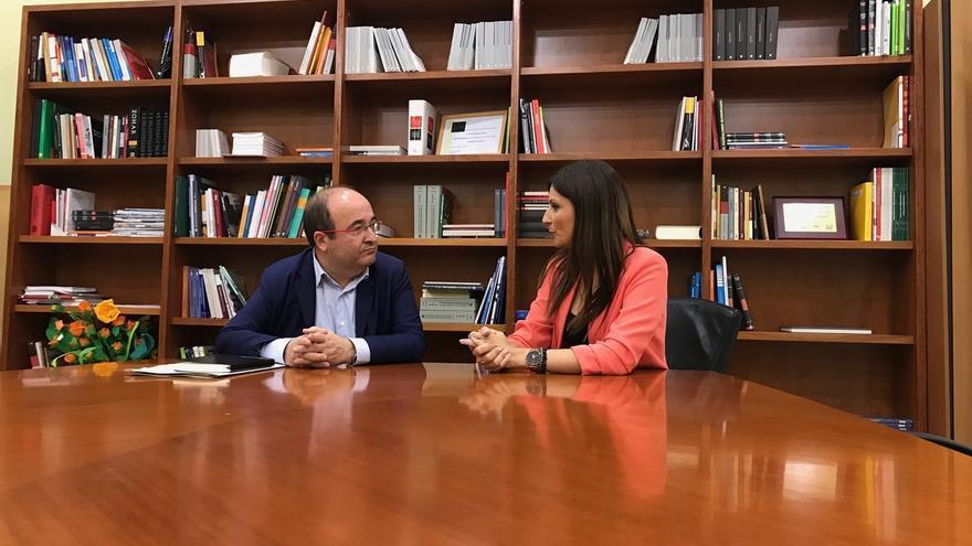 """Roldán (Cs) acusa al PSC de """"dividir al constitucionalismo"""" rechazando la moción contra Torra"""