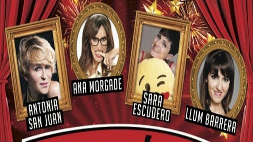 Ana Morgade, Antonia San Juan, Llum Barrera y Sara Escudero, en el CID de Las Palmas de Gran Canaria